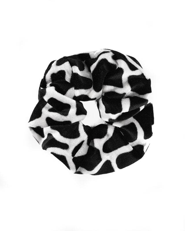 Animal Velvet Scrunchie