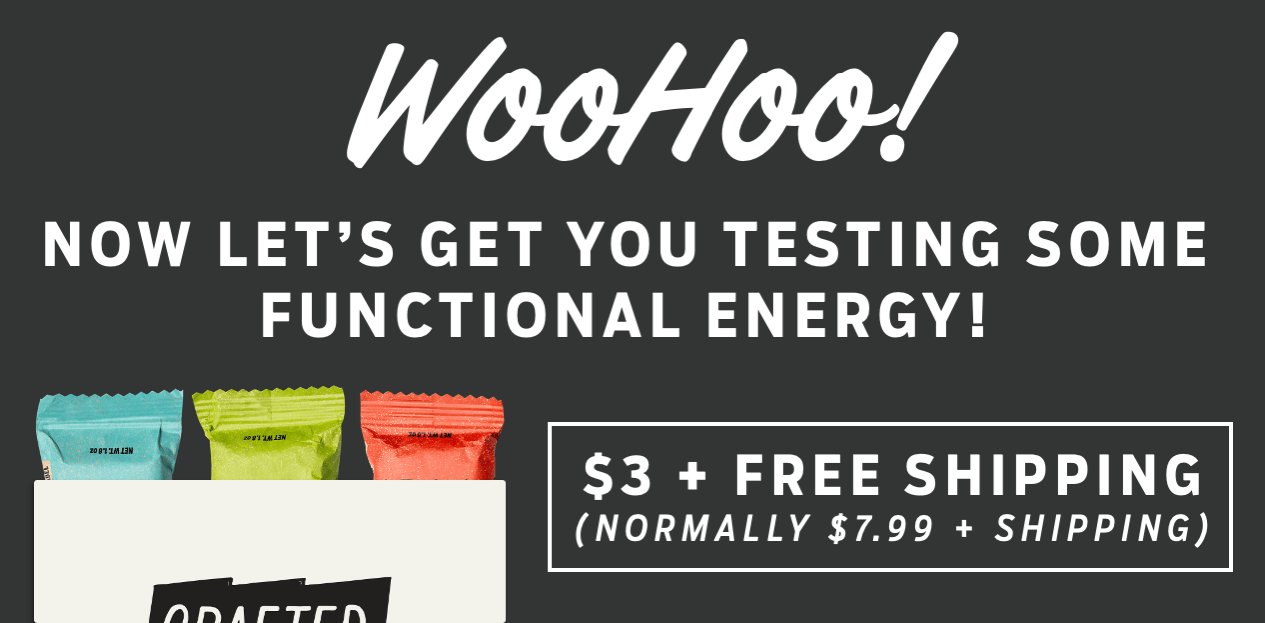 Let's get you testing some Functional Energy!
