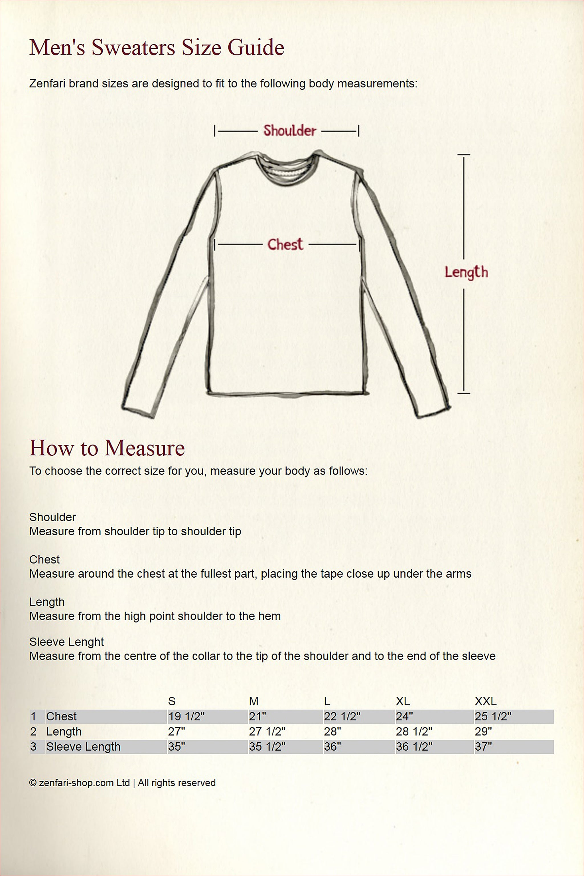 Sweaters Guide