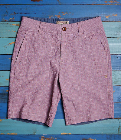 Royal Plaid Short