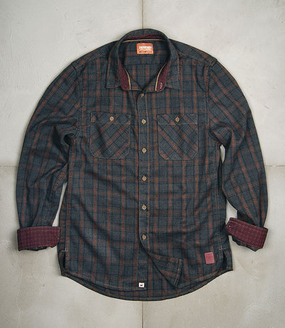 ST-James Plaid Shirt Jacket
