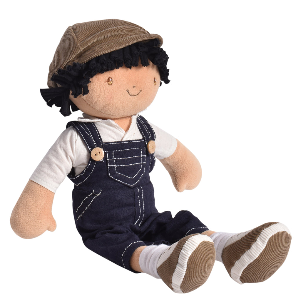 Joe- Boy Doll in Dungaree in Cap