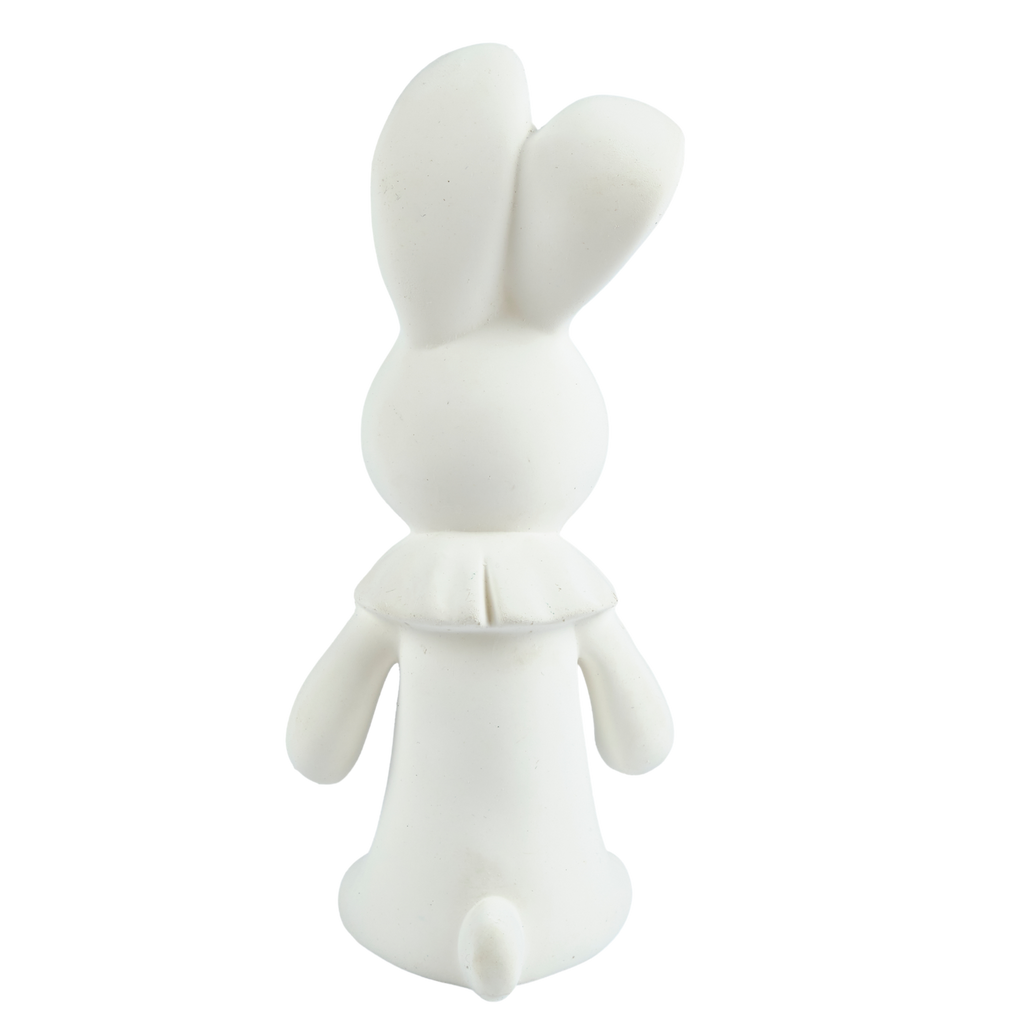 Havah the Bunny - All Rubber Squeaker Toy
