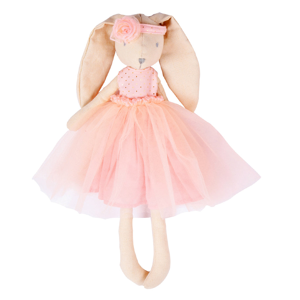 Marcella the Bunny in Ballerina Pink Dress