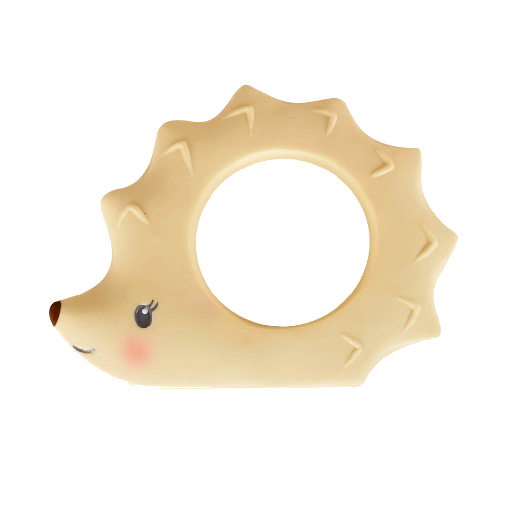Ethan the Hedgehog Natural Rubber Teether