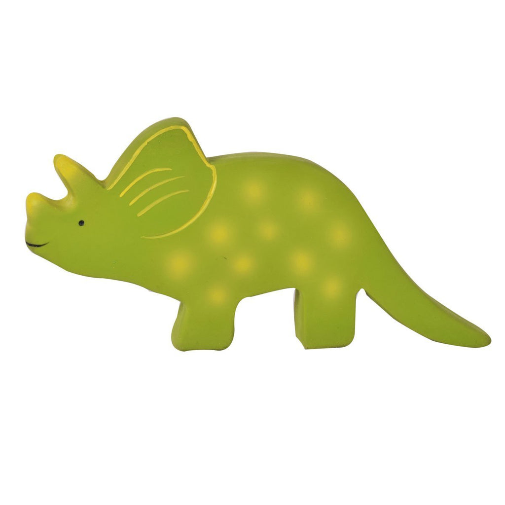 Baby Triceratops (Trice ) Rubber Toy - Meiya and Alvin