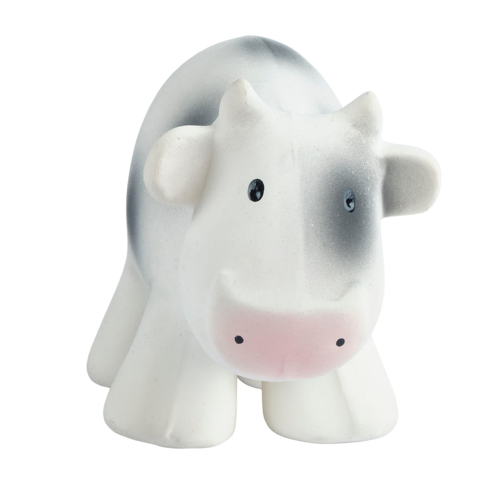 Cow - Natural Rubber Rattle