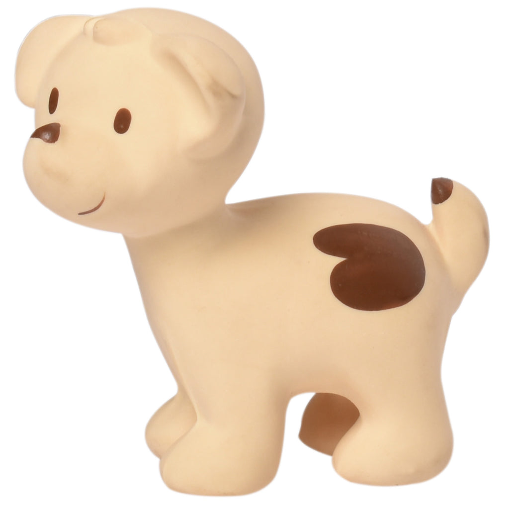 Puppy - Natural Rubber Rattle