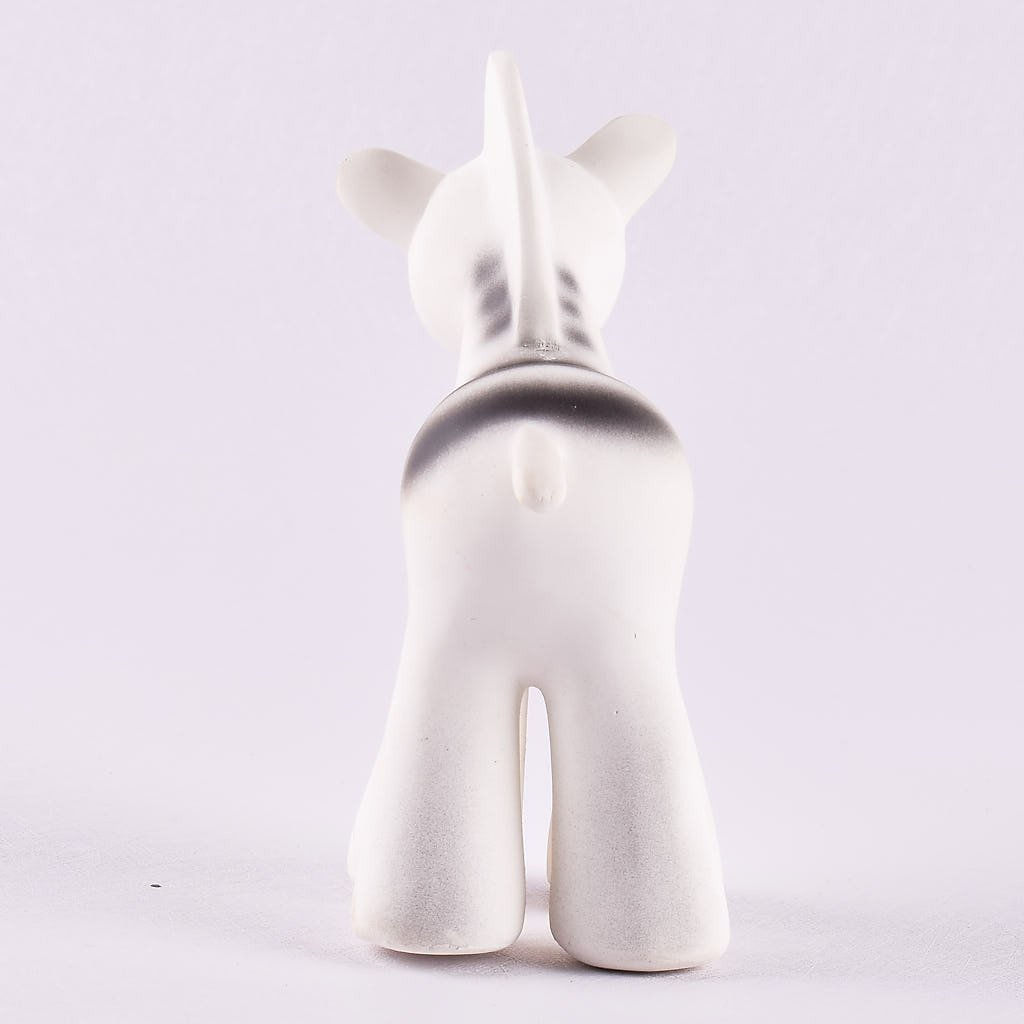 Zebra - Natural Rubber Rattle