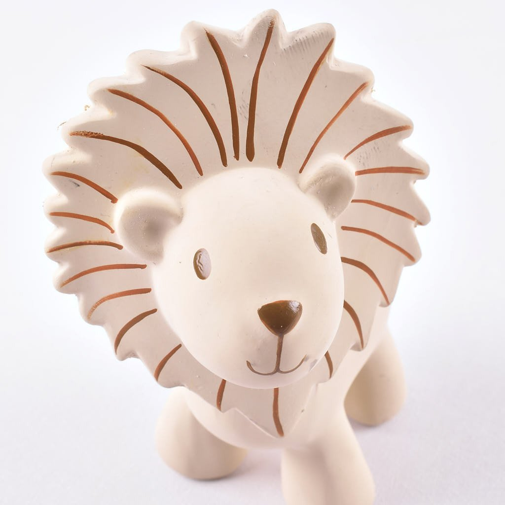 Lion - Natural Rubber Rattle