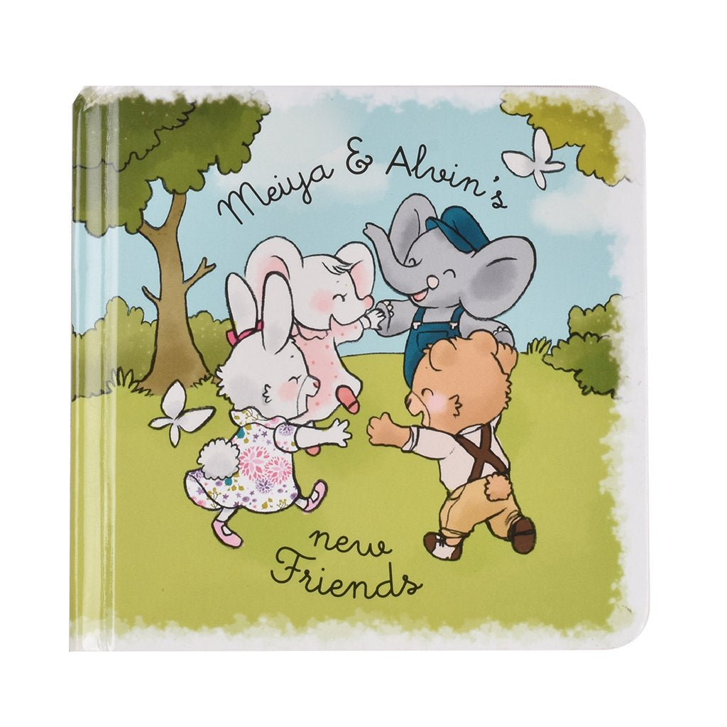 Meiya & Alvin - New Friends Book