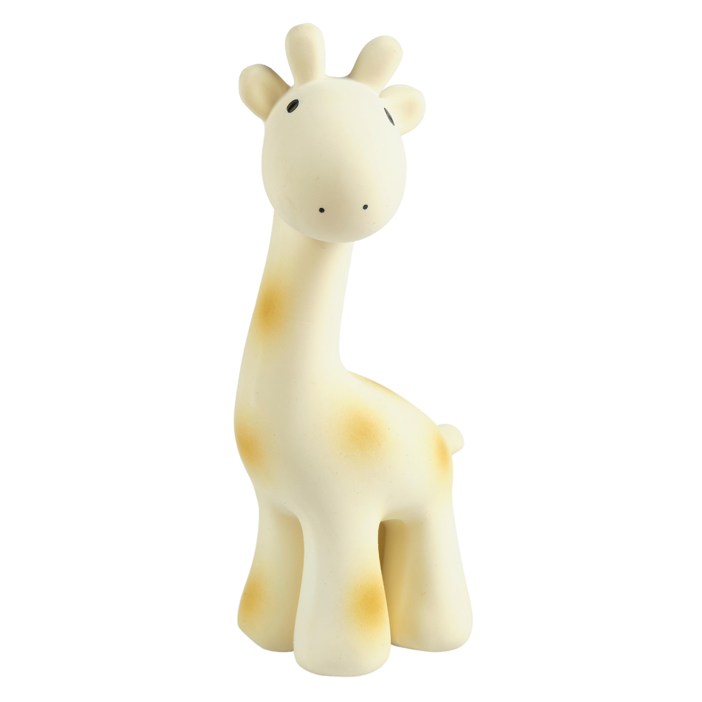 Giraffe - Natural Rubber Rattle
