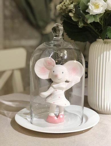 Meiya the Mouse - All Rubber Squeaker Toy