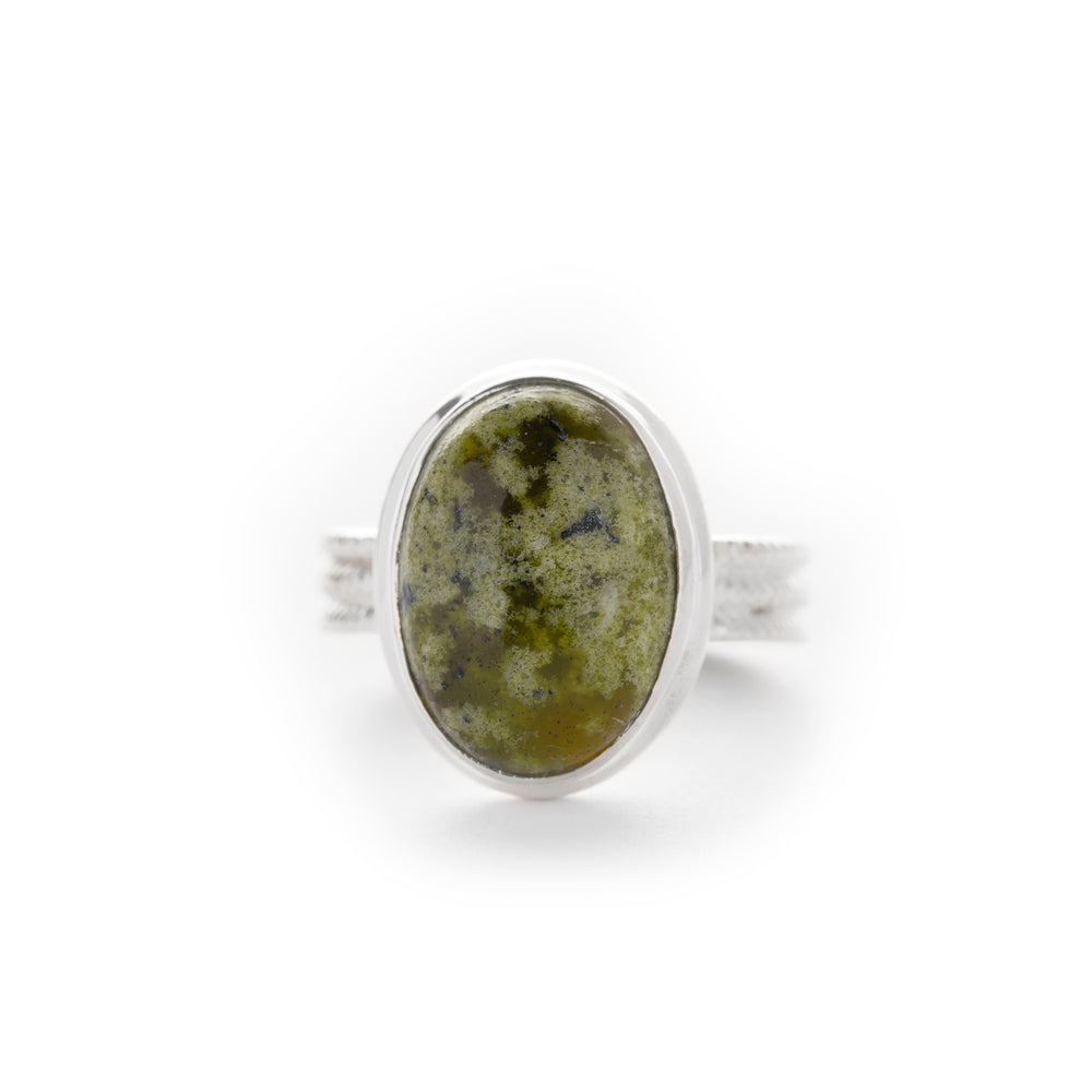 Load image into Gallery viewer, Handmade Connemara Marble Ring