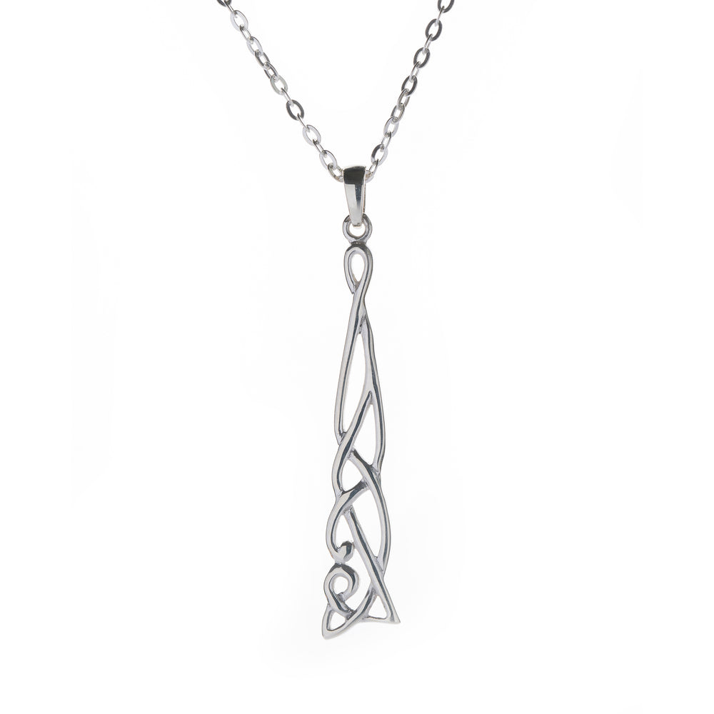 Load image into Gallery viewer, Celtic Long Pendant