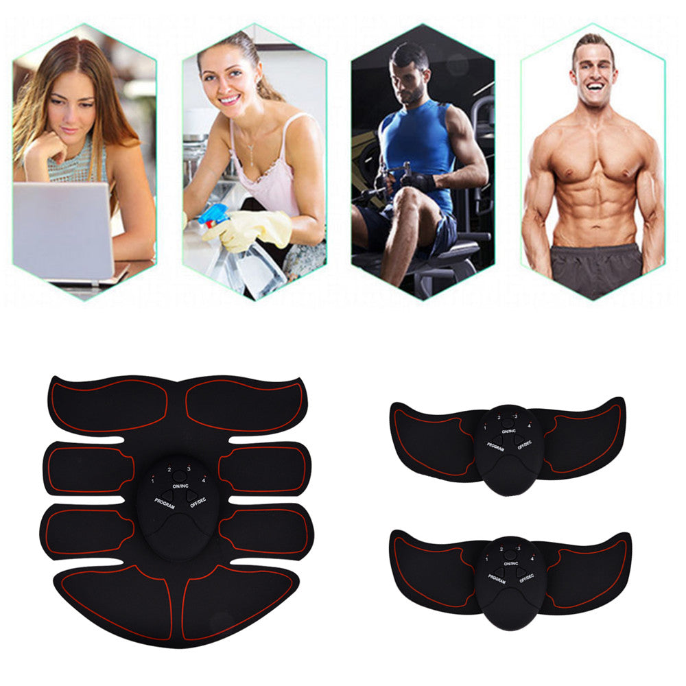 EMS Electric muscle trainer, abdominal muscle stimulator