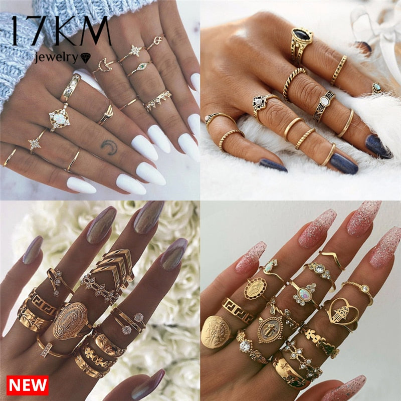 Rings Set For Women - tonpx