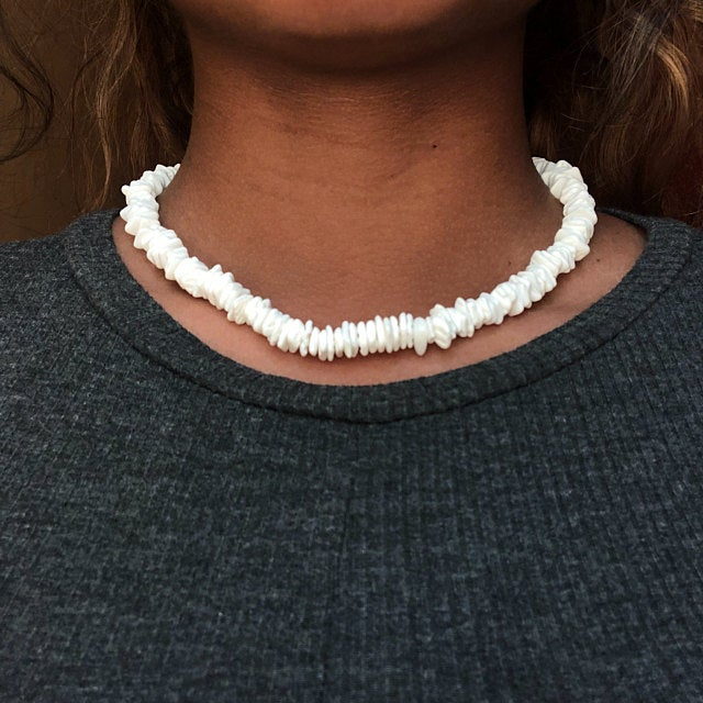 Necklace Irregular Chips - tonpx