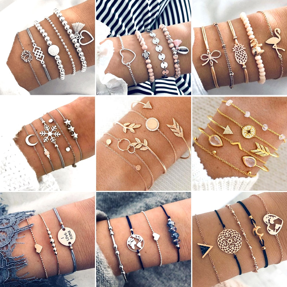 30 Style Boho Bangle - tonpx