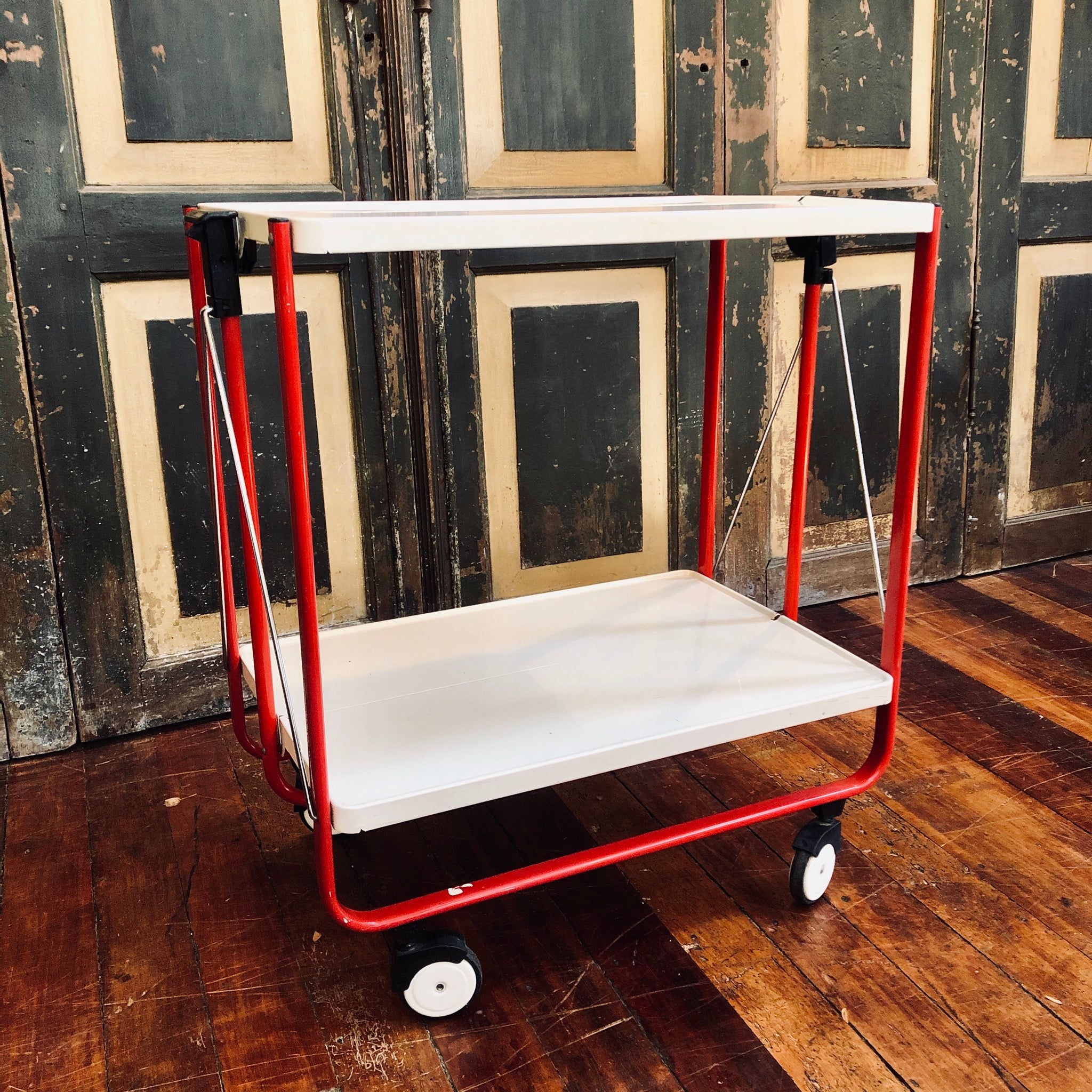 West German Folding Trolley