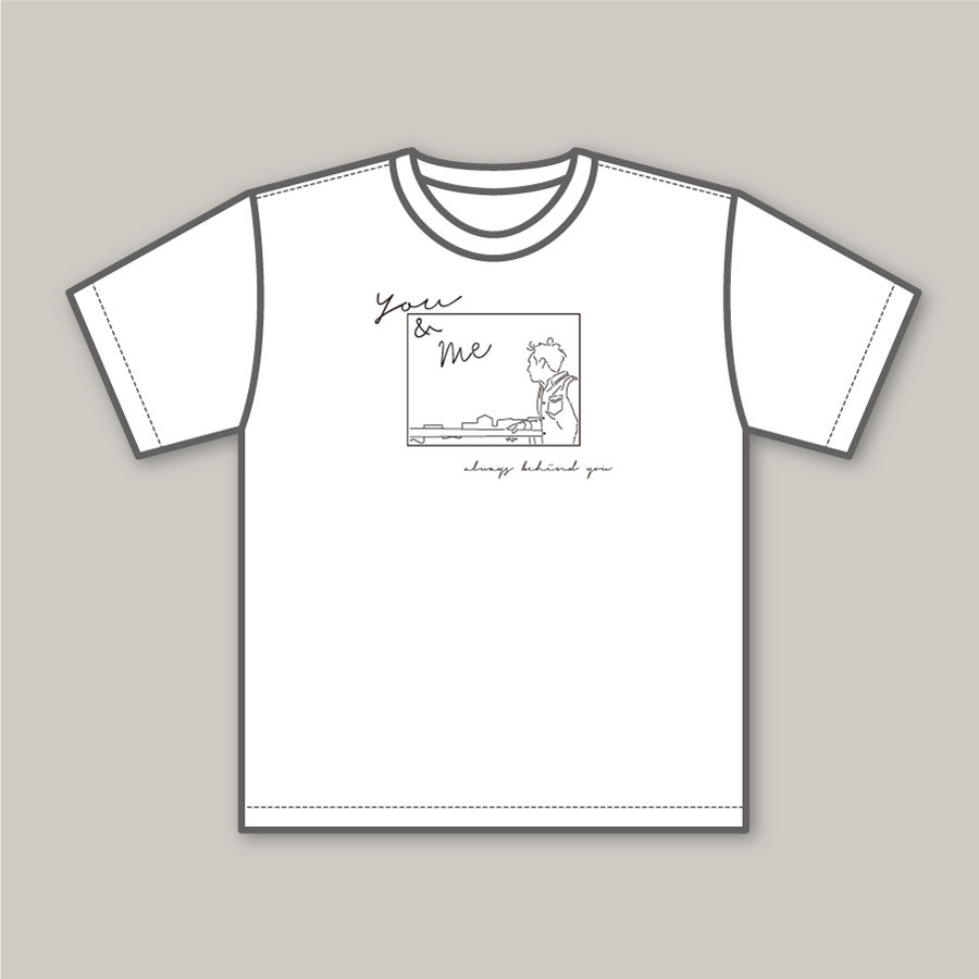 You & me Tシャツ〈ホワイト〉