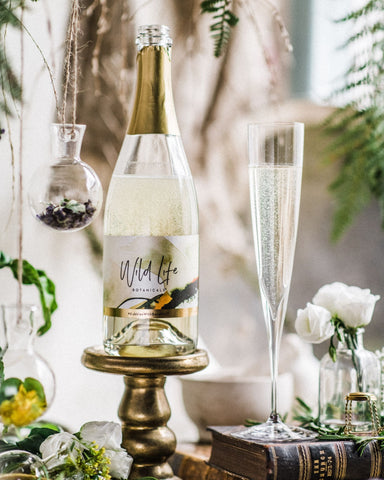 Wild Life Botanicals low-alcohol sparkling wine