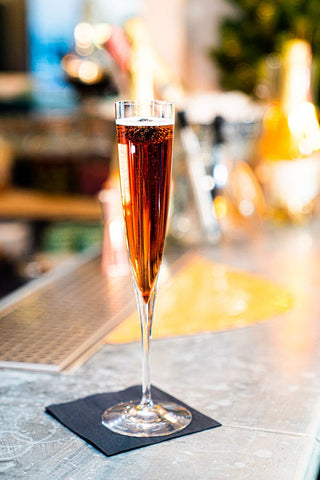 Wild Kir Royale low-alcohol cocktail