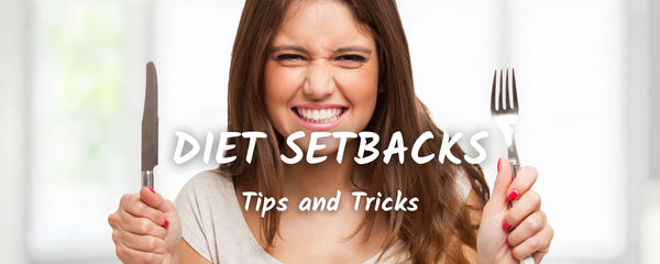 How to Deal with Diet Setbacks & Weight Loss Plateaus