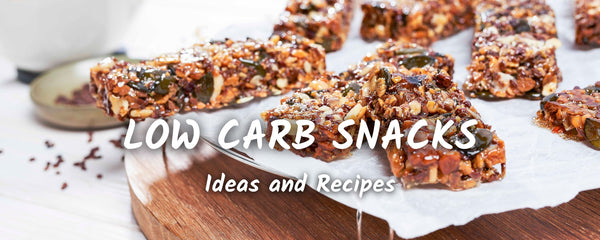 10 Healthy Low Carb & Keto Snack Ideas | with Recipes