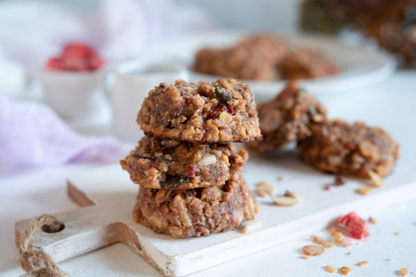 Low Carb Muesli Cookies