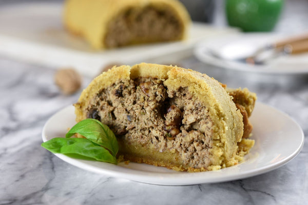 Vegan Wellington with Mushrooms