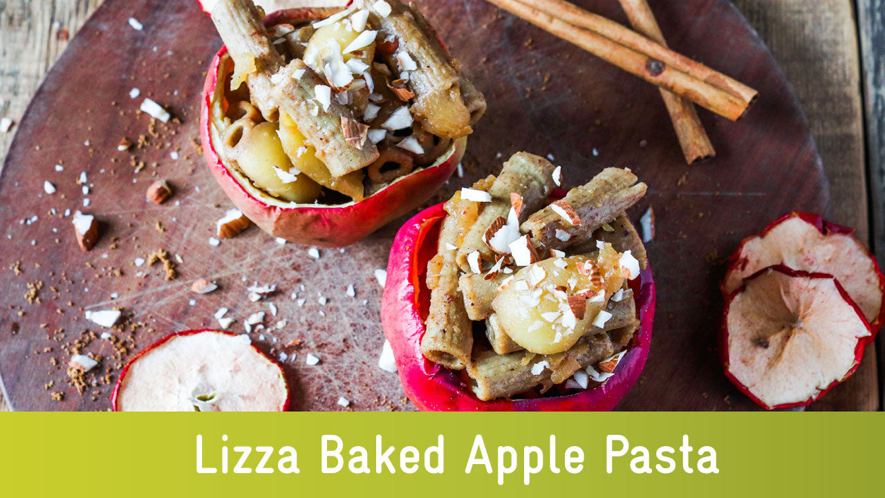 Low carb baked apple pasta recipe