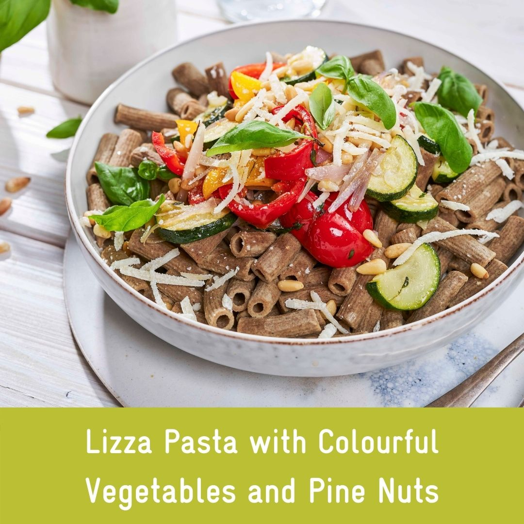 Protein rich flaxseed pasta