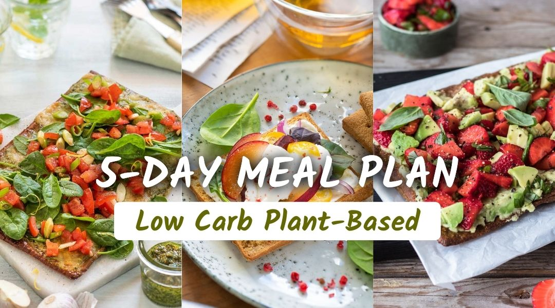 5-day low carb meal plan