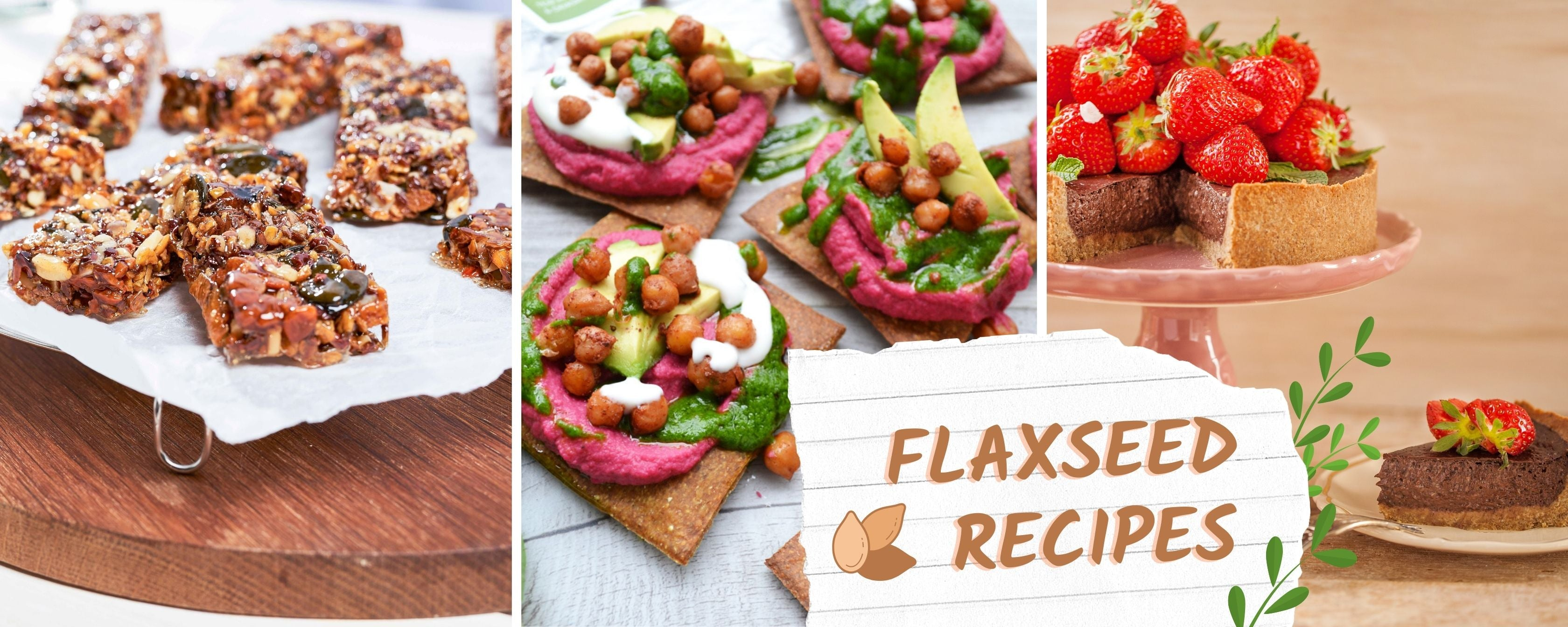 Flaxseed recipes for cooking and baking