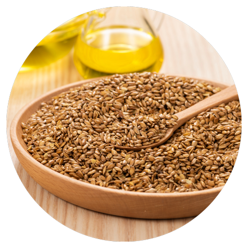 Flaxseed also known as golden linseed
