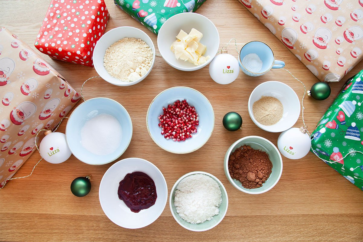 Ingredients for Christmas Muffins