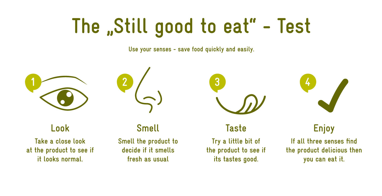 How to do the still good to eat test