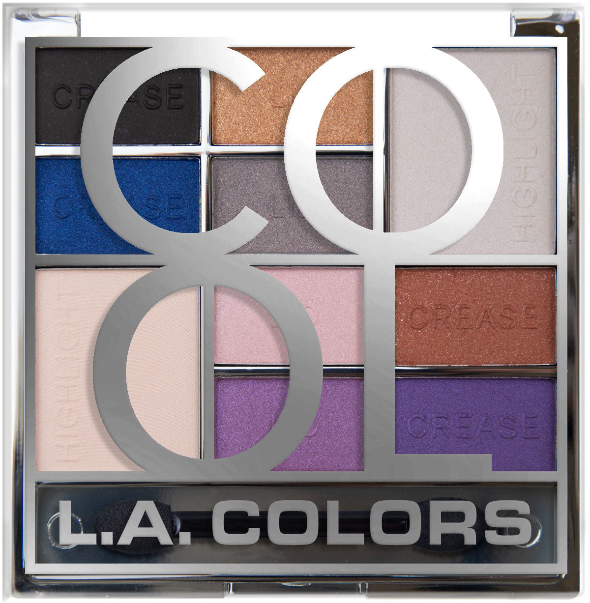 L.A. Colors Color Block Eyeshadow - Color