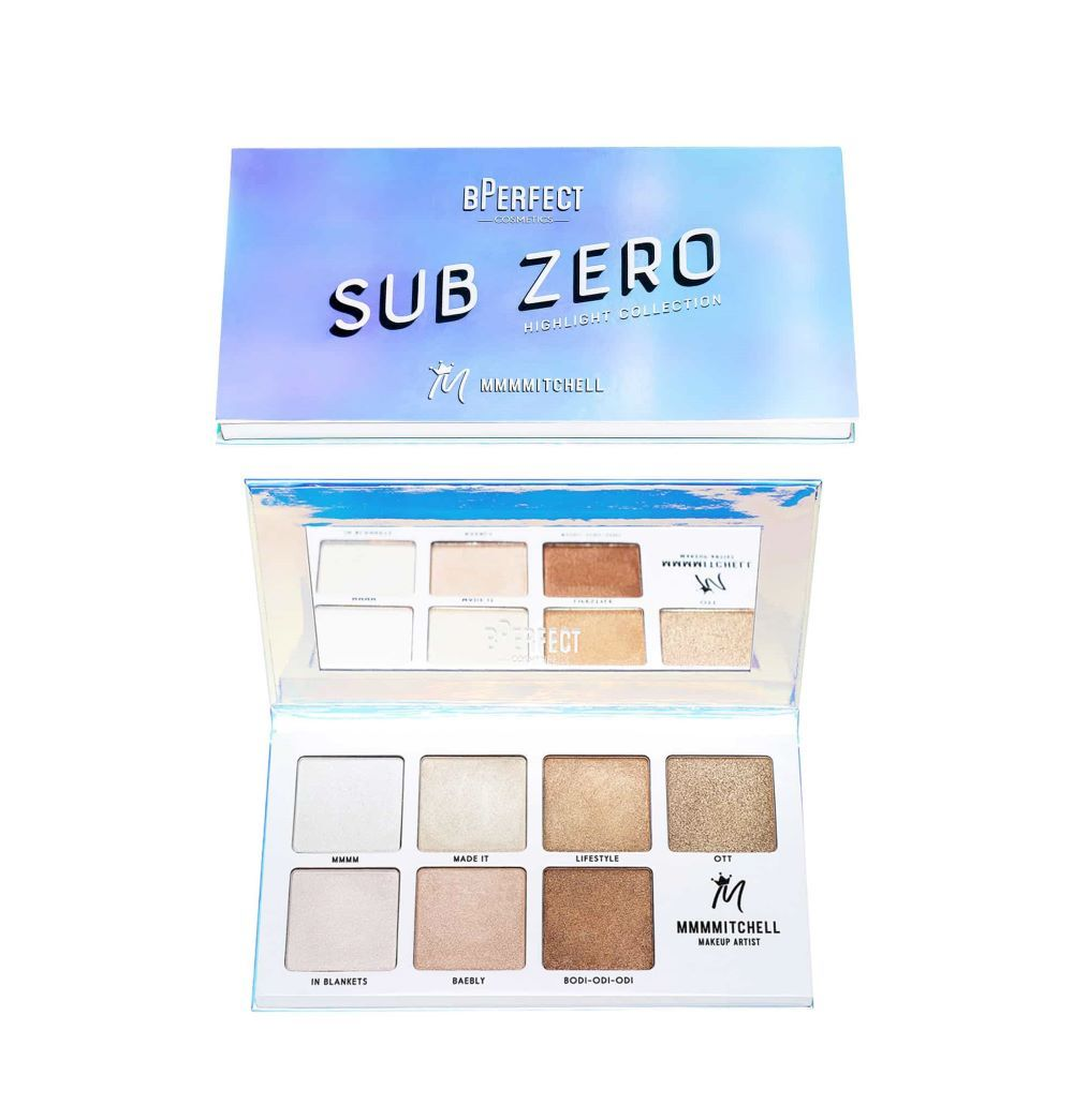 BPerfect MMMMitchel Sub Zero Highlighter Palette