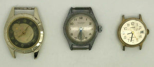 9 ASSORTED WATCHES FOR PARTS OR REPAIR  - Waltham, Elgin, Oris - LOT 3393