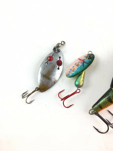 Vintage Fishing Lures Lot Of 5 5576
