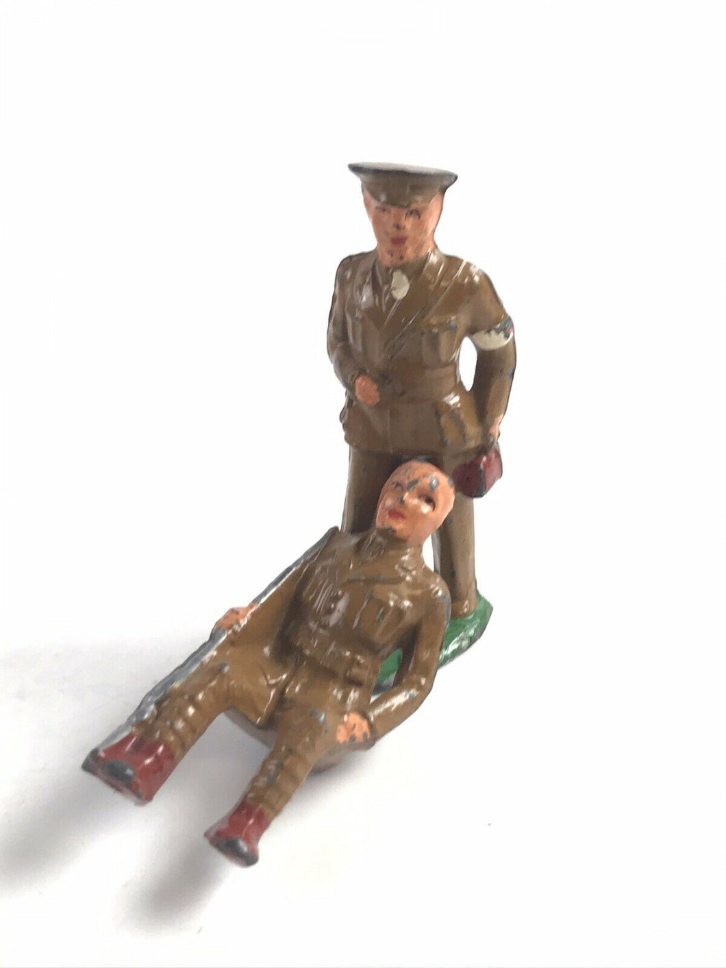 Vintage Lead Barclay Solidier Figurines (2) - 5748