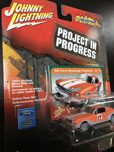 johnny lightning project in progress '66 Ford Mustang Fastback No.13 8176