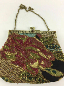(3) Vintage Beaded/Sequin Purses - lot 1999