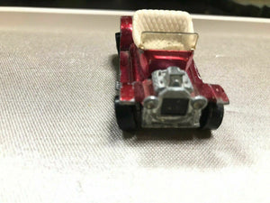 Hot Wheels Redline Hot Heap HTF Hot Pink w/ White Interior 1968 - 2405