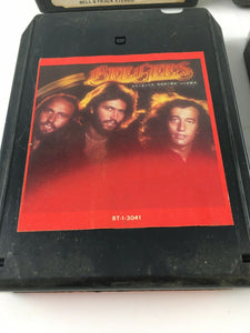 Vintage 8-track Tapes: Bee Gees, Partridge Family, KC & Sunshine Band, Etc.. 565