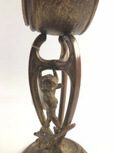 Load image into Gallery viewer, VTG French Bronze Figural Clock 2nd Half 19th Century-5364