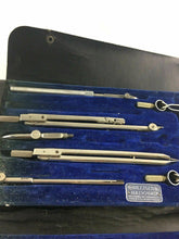 Load image into Gallery viewer, Antique Drafting Set - DIETZGEN NATIONAL DRAWING INSTRUMENTS 4592