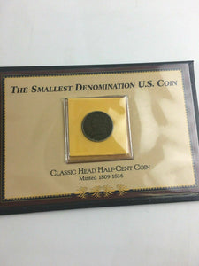 Vintage The Smallest Denomination U.S. Coin Book -4429